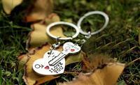 "Arrow & ""I Love You"" Heart & Key Lovers Couple Key Chain Ring Keychain Keyring Keyfob Lover Valentine's Day Gift"