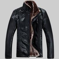 HOT!!2013 New Warm Winter Sheepskin Men's Leather jacket Men Leisure Fur coat Brand luxury Real Leather coat Free shipping /A-37
