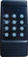 3 key black remote control 12 key wireless remote control 500 meters remote control