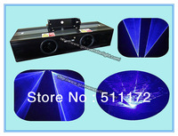 Professional DJ & Disco Stage Lighting  Laser Light Project Double Head Blue Laser Light Show Systerm