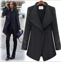 Cloth coat, women's clothing woolen cloth of new fund of 2013 autumn winters is Europe and the United States long wool coat