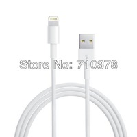 Generic 8-Pin  to USB cable for compatible with Apple Iphone 5 10 pcs/lot  Free shpping