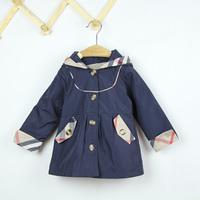 Wholesale  Brand Girl's Outerwear & Coats Children's Hoodies spring new 2013 baby girl autumn jackets Girl coat windproof #68131