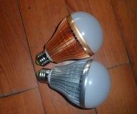 wholesale50/lot Super cooling Free shipping - LED ball steep light lamp 12W led bulb E27 AC85-265V white /warm white 1200-1320LM