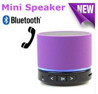 Hgh quality Newest S11 Wireless Mini Bluetooth Speaker Bluetooth  HiFi  with MIC For iPhone 5 MP4 MP3 Tablet PC
