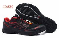 Мужские ботинки 2013 salomon high tops hiking boots men, man outdoor sneakers outdoor speedcross 3 Ortholite brand fashionable botas