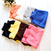 Children's clothing autumn and winter child multicolour 100% cotton turtleneck sweater basic shirt child baby elastic sweater