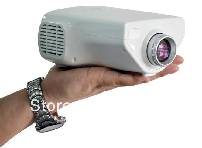 2013 Newest Upgrade Version ! Mini AV LCD LED Digital Projector VGA A/V USB & SD with HDMI Projector Wholesale Free shipping(China (Mainland))