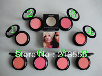 Free Shipping 8PCS Brand Blush 9G Professional Makeup Blush  8-Colors Wholesale and Retail Brand Cosmetic