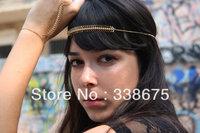 New Trendy Hair Band Head Chain Hand Chain