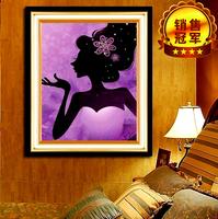 5d diamond cross stitch kit,DIY Diamond painting,3d pasted cross stitch crystal Cartoon Series beautiful woman.size 46 * 56cm
