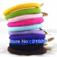 mini order USD 15 free shipping Accessories multicolour headband hot-selling all-match candy color hair rope hair band about 3g