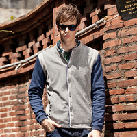 2013 autumn and winter SEMIR male jacket men's clothing casual thickening woolen cloth outerwear solid color coat