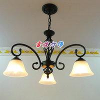 Lighting pendant light rustic wrought iron pendant light bedroom pendant light fashion vintage lamps pendant light