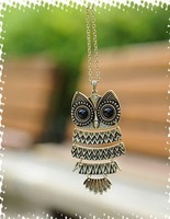 restore ancient ways owl pendant necklace Free Shipping