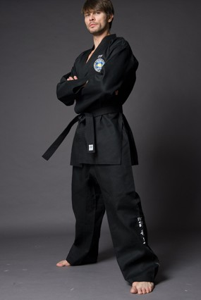 Custom TaeKwonDo Black ITF POOM UNIFORM TKD uniforms Dobok TAE KWON DO ...