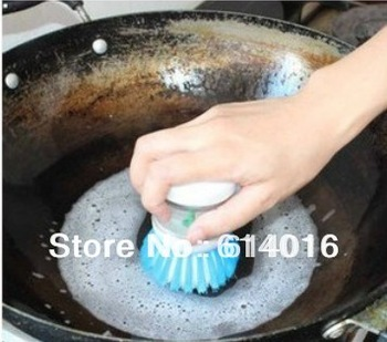 5pcs Novelty household items gift wash brush pot Cleaning Brushes Kitchen Supplies Xiguo brush scourer Creative gifts