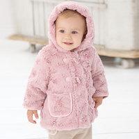 Davebella autumn and winter outerwear male thermal newborn baby hat shirt db308