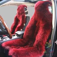 Wool car seat cushion wool cushion raccoon fur winter hot-selling general models