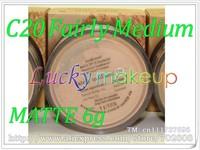 1pcs C20 Fairly Medium 6g MATTE Bare Escentuals BareMinerals MINERAL Foundation Broad Spectrum SPF 15 loose powder Click/Lock