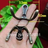 53 * 30MM antique alloy hook / cabinet hook / home hook / decoration accessories