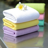 Free Shipping wholesale The trumpet 25 * 25 microfiber towel promotional towels Factory direct small square