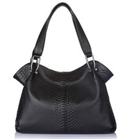 2013 hot ! Aovo women's genuine leather handbag 2013 embossed leather women's shoulder bagsWQS001