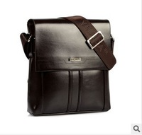 2013 new wholesale authentic man one shoulder inclined bag, men's bags vertical section real cowhide leisure business package