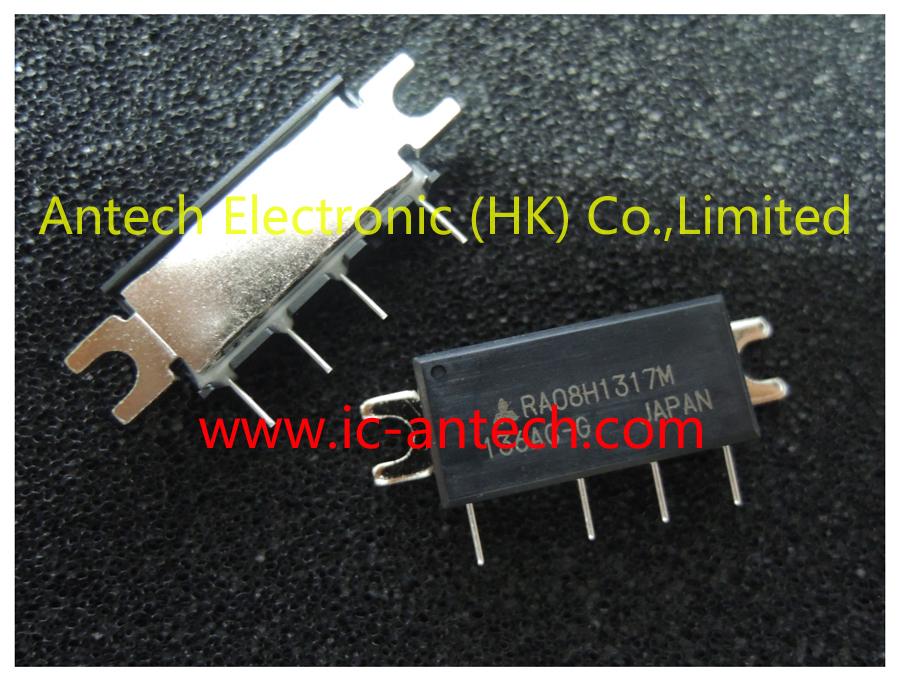 Free Shipping! 2pcs New Original RA08H1317M RA08H1317 8-watt RF MOSFET Amplifier Module(China (Mainland))