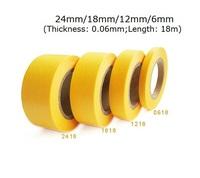 GJSS34 Masking Tape Set 6mm 12mm 18mm 24mm 4 Rolls Set NEW
