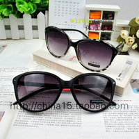 Retro Star Style Elegant Oversized Frame Cat Eye Women Sunglasses Brand Designer 2013 Free Shipping