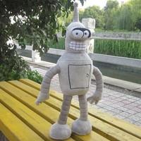 "Futurama 15"" Bender Robot Figure plush toy baby children toy"