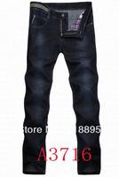 Top Brand Men's Clothing Famous Brand Jeans Men Long Pants Slim Fit Light Blue Jeans Male Big Size Drop Shipping