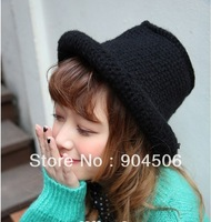 free shipping 2013Christmas gift New Arrival Fashion women's knitted cap +special female fisherman  hat+hot sale warm winter hat