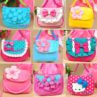 Hot Sale  Fashion  bowknot bag  hello kitty bag  shoulder bag  Christmas gift size:15*11*4.5cm JEKB110304
