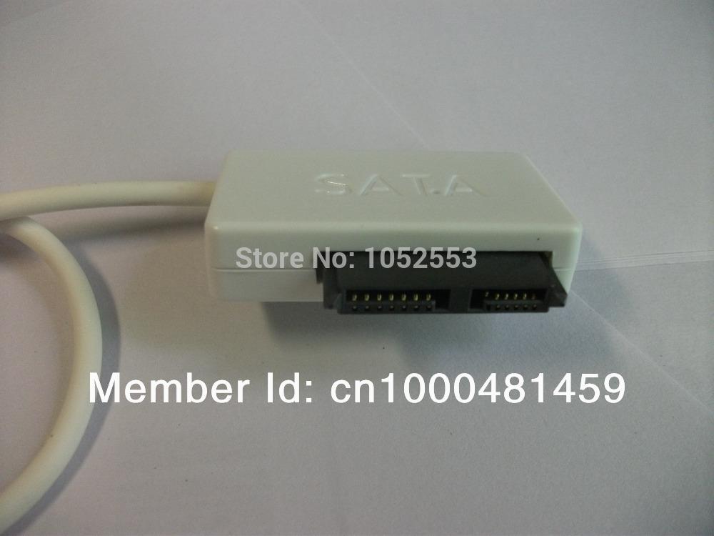USB 2.0 USB2.0 to 7+6 13 13P Serial ATA Slim Slimline SATA 2.0 II Laptop Notebook CD/DVD Optical Device Adapter Converter Cable(China (Mainland))
