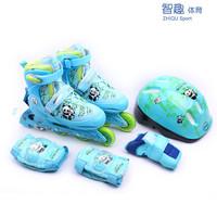 Child skating shoes full set of inline skates adjustable skate shoes roller skates full set