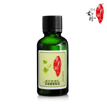 Multi-colored neck lumbar essential oil 30ml body massage clyburn open back