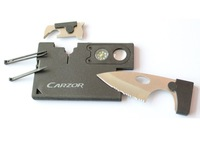 Novelty Hot Multifunctional knife outdoor products carzor knife cutting tool 9 in1 Compass opener screwdriver Magnifier