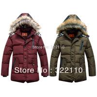 Retail Kids Sportswear Down Coat/Jacket Outerdoor Clothing Casual winter Costume Skiwear 80% Duck's down Mountaineering Jackets