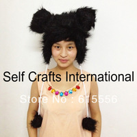 Winter fashion animal hat for women and girls free shipping