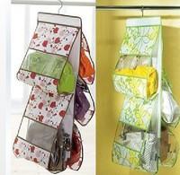Large Clear Women Tidy Home Purses Handbag Hanging Storage Organizer Bag Closet