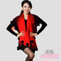 Cardigan autumn sweater female cloak wool cardigan cape fashion plus size sweater outerwear mantissas top