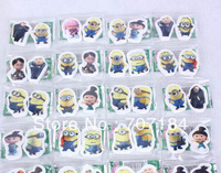Free Shipping 2013 Despicable me 2 eraser rubber  90 pcs/ 45 sets/lot  new arrival