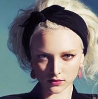 New 2014 Fashion Korean Style Rabbit ear Headscarf Headbands For Women Hair Accessories F003