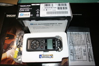 Tascam dr05 pcm portable digital recorder black and white two-color ,