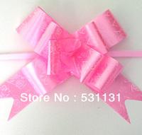 Free Shipping Wedding Decoration Rose Pull Bow 18CMD