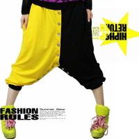 Hiphop candy hiphop sports pants harem pants trousers punk knee length 0034