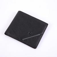 Male wallet short brief design genuine leather wallet ultra-thin cowhide wallet