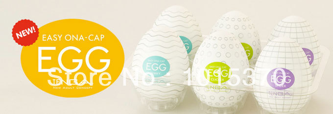 Tenga Eggs 6 Pack Variety(EGG-001~EGG-006)(China (Mainland))